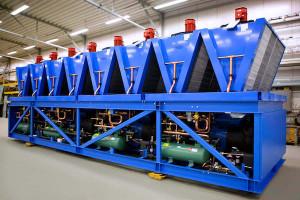 Адиабатическое охлаждение технологического оборудования