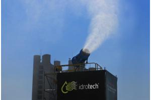 Подавление пыли и запахов в промышленности