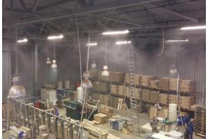 Увлажнение и охлаждение воздуха в промышленных помещениях