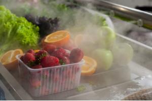 Увлажнение рыбных столов, мясной продукции, овощей и фруктов